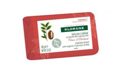 Klorane cream soap with hibiskus blossom 100 g / Клоран сапун с цвят от хибискус 100 гр