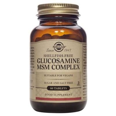 Glucosamine Msm Complex 60 tablets Solgar / Глюкозамин МСМ комплекс 60 таблетки Солгар