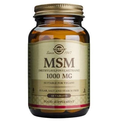 Methylsulfonylmethane (MSM) 1000 mg. 60 tablets Solgar / Метилсулфонилметан (МСМ) 1000 мг. 60 таблетки Солгар