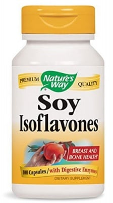 Soy Isoflavones 100 capsules Nature's Way / Соя Изофлавони 100 капсули Nature's Way