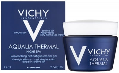 Vichy Aqualia Thermal Spa night cream gel 75 ml. / Виши Аквалия Термал Спа нощен крем-гел 75 мл.