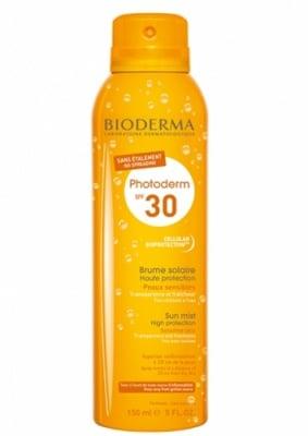 Bioderma Photoderm MAX Sun mist SPF 30 150 ml. / Биодерма Фотодерм Макс Прозрачен спрей с висока слънцезащита за светла кожа SPF 30 150 мл.