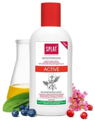 Mouthwash active Splat 275 ml. / Вода за уста Сплат Актив 275 мл.