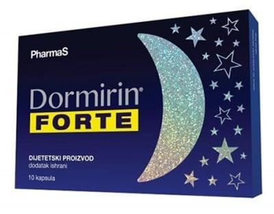 Dormirin forte 10 capsules / Дормирин Форте 10 капсули