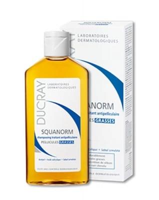 Ducray Squanorm аnti-dandruff shampoo for oily scalp 200 ml / Дюкре Скванорм шампоан против мазен пърхот 200 мл.