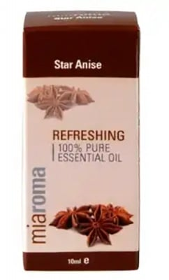 Star Anise essential oil 10 ml. MIAROMA / Етерично масло от Анасон 10 мл. MIAROMA
