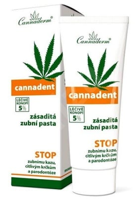 Cannaderm Cannadent Toothpaste 75 ml / Канадерм Канадент Паста за зъби 75 мл.