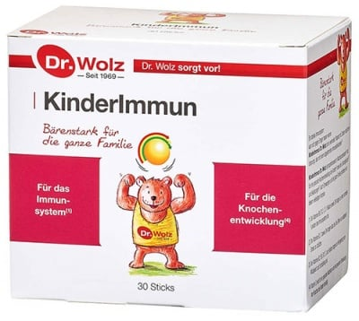 Kinderimmun 2 gr. 10 sachets Dr. Wolz / Киндеримун 10 сашета по 2 гр. Dr. Wolz