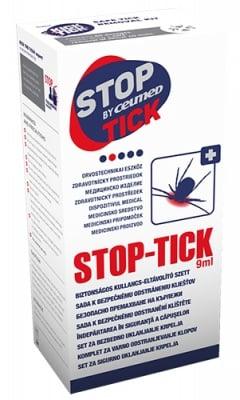 Stop tick set 9 ml. / Стоп тик комплект спрей 9 мл. + мед. изделие за отстраняване на кърлежи