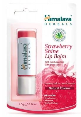 Lip balm strawberry shine 4.5 g Himalaya / Балсам за устни с Ягода 4,5 гр. Хималая