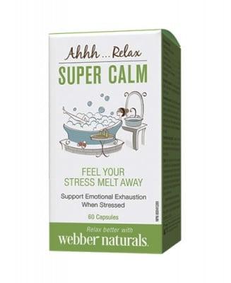 Super calm 60 capsules Webber Naturals / Супер калм 60 капсули Уебър Натуралс