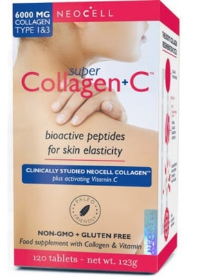 Super collagen + С 120 tablets Neocell USA / Супер колаген + С 120 таблетки Neocell USA