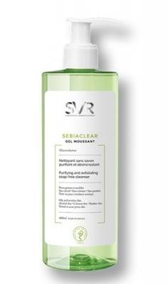 SVR Sebiaclear gel moussant 400 ml. / Себиаклиър Измиваща гел-пяна за лице 400 мл. SVR