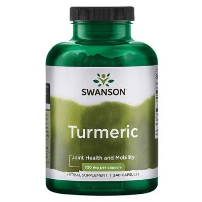 Swanson Turmeric 720 mg 240 capsules / Суонсън Куркума 720 мг. 240 капсули