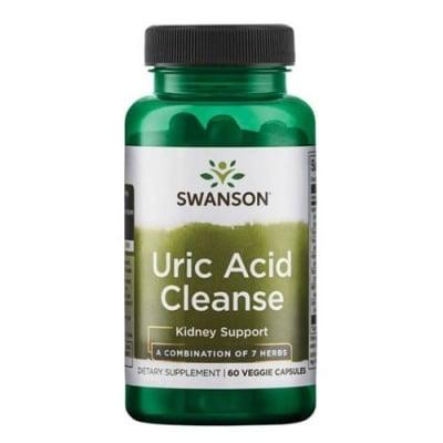 Swanson Uric Acid Cleanse 60 capsules / Суонсън Прочистване на пикочната киселина 60 капсули