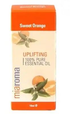 Sweet orange essential oil 10 ml. MIAROMA / Етерично масло от Сладък портокал 10 мл. MIAROMA