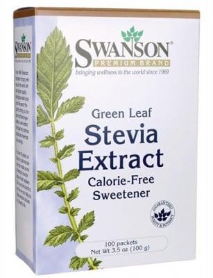 Swanson stevia extract 100 packets / Суонсън екстракт от Стевия 100 пакетчета