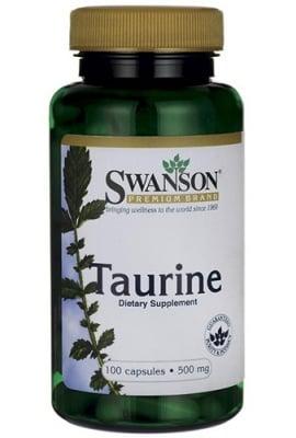 Swanson taurine 500 mg 100 capsules / Суонсън Таурин 500 мг. 100 капсули