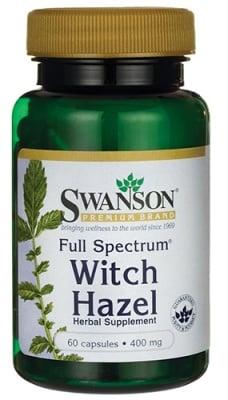 Swanson Witch hazel 400 mg 60 capsules / Суонсън Хамамелис Вирджиния 400 мг. 60 капсули