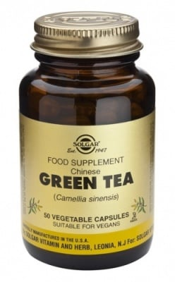 Green tea 50 capsules Solgar / Зелен чай 50 капсули Солгар