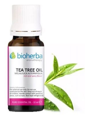 Bioherba Tea tree oil 10 ml. / Биохерба Етерично масло от Чаено дърво 10 мл.