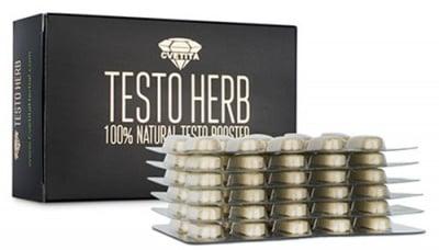 Testo herb 60 tablets Cvetita / Тесто Херб 60 таблетки Цветита