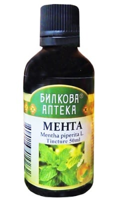 Bioherba tincture peppermint 50 ml / Биохерба Тинктура Мента 50 мл.