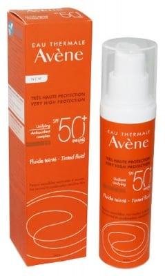 Avene Sun care tinted fluid SPF50+ 50 ml. / Авен Слънцезащитен оцветяващ флуид SPF50+ 50 мл.