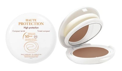 Avene Couvrance High protection honey compact foundation cream SPF 50 tinted 10 g / Авен Пудра за чувствителна кожа SPF 50 Мед 10 гр.