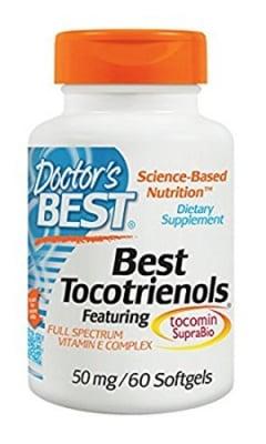 Doctor's Best Tocotrienols 50 mg 60 capsules / Доктор'с Бест Витамин Е 50 мг. 60 капсули