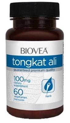 Biovea Tongkat ali 80 mg 60 tablets / Биовеа Тонгкат али 80 мг. 60 таблетки
