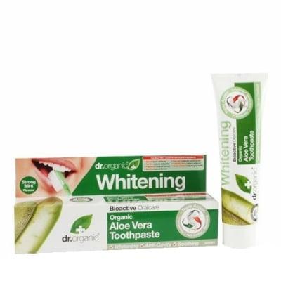 Dr. Organic Aloe Vera Whitening toothpaste 100 ml / Др. Органик Алое Вера Избелваща паста за зъби 100 мл.