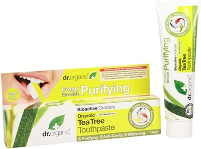 Dr. Organic Tea tree Toothpaste 100 ml / Др. Органик Чаено дърво Паста за зъби 100 мл.