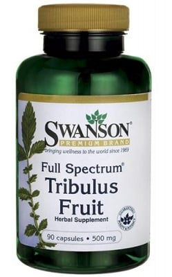 Swanson Tribulus fruit full spectrum 500 mg 90 capsules / Суонсън Трибулус плод фул спектрум 500 мг. 90 капсули