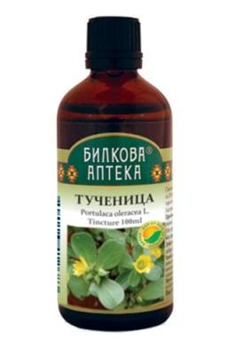Tincture Portulaca oleracea L. 100 ml. / Тинктура Тученица 100 мл. Билкова Аптека