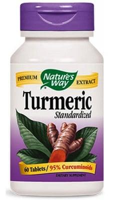 Turmeric 500 mg. 60 tablets Nature's Way / Куркума 500 мг. 60 таблетки Nature's Way