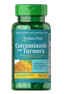 Puritan's Pride Curcuminoids from turmeric 500 mg 30 capsules / Пуританс Прайд екстракт от Куркума 500 мг. 30 капсули