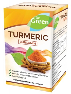 Turmeric 60 capsules Dr. Green / Куркума 60 капсули Др. Грийн