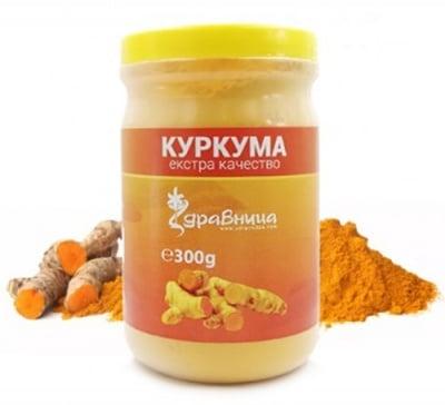 Turmeric powder 300 g Zdravnitza / Куркума на прах 300 гр. Здравница