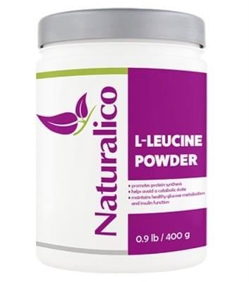 Naturalico L-leucine powder 400 g / Натуралико L-левцин прах 400 гр.