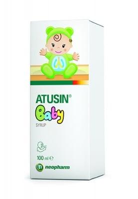 Atusin Baby suryp 100 ml. Neopharm / Атусин Бебе сироп 100 мл. Неофарм