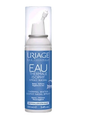 Uriage ISOPHY natural physiological serum babies - children nasal spray 100 ml. / Уриаж ISOPHY физиологичен серум - спрей за нос за бебета и деца 100 мл.
