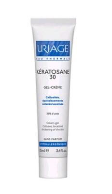 Uriage KERATOSANE 30 Cream gel for callused skin 75 ml. / Уриаж KERATOSANE 30 Крем гел за загрубяла кожа 75 мл.