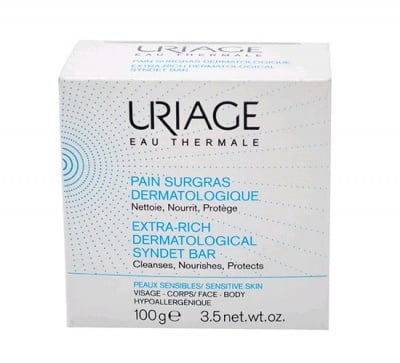 Uriage Extra- rich dermatological syndet bar 100 g. / Уриаж Сапун богат 100 гр.