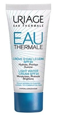 Uriage THERMAL light water cream SPF 20 40 ml. / Уриаж THERMAL хидратиращ крем със SPF 20 40 мл.