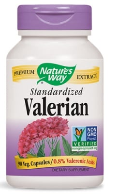 Valerian 525 mg 90 capsules Nature's Way / Валериана 525 мг. 90 капсули Nature's Way