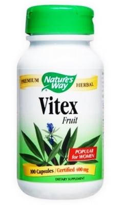 Vitex 400 mg 100 capsules Nature's Way / Витекс 400 мг. 100 капсули Nature's Way