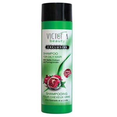 Victoria Beauty Exclusive Shampoo for oily hair with Nettle extract and Pomegranate 290 ml / Виктория бюти Ексклузив Шампоан за мазна коса с екстракт от коприва и нар 290 мл.