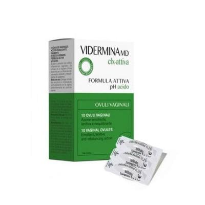 Vidermina CLX 10 vaginal ovules x 3 g / Видермина CLX 10 вагинални овули x 3 гр.