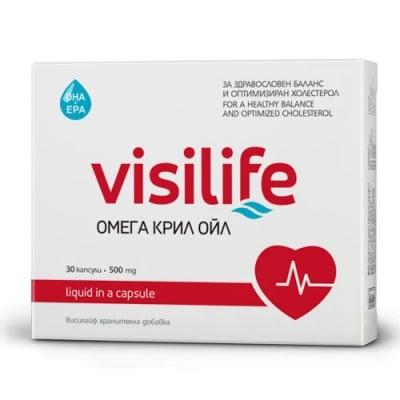 Visilife OMEGA KRILL OIL 30 capsules / Висилайф Омега Крил Ойл 30 капсули